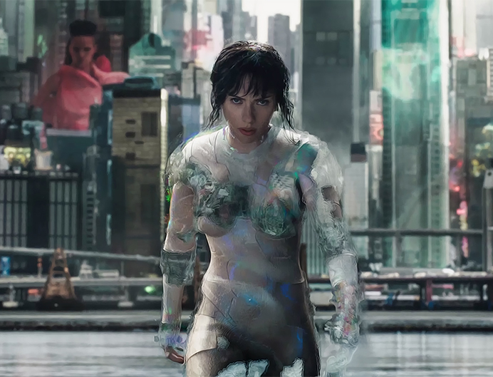 ghost in the shell cyberpunk