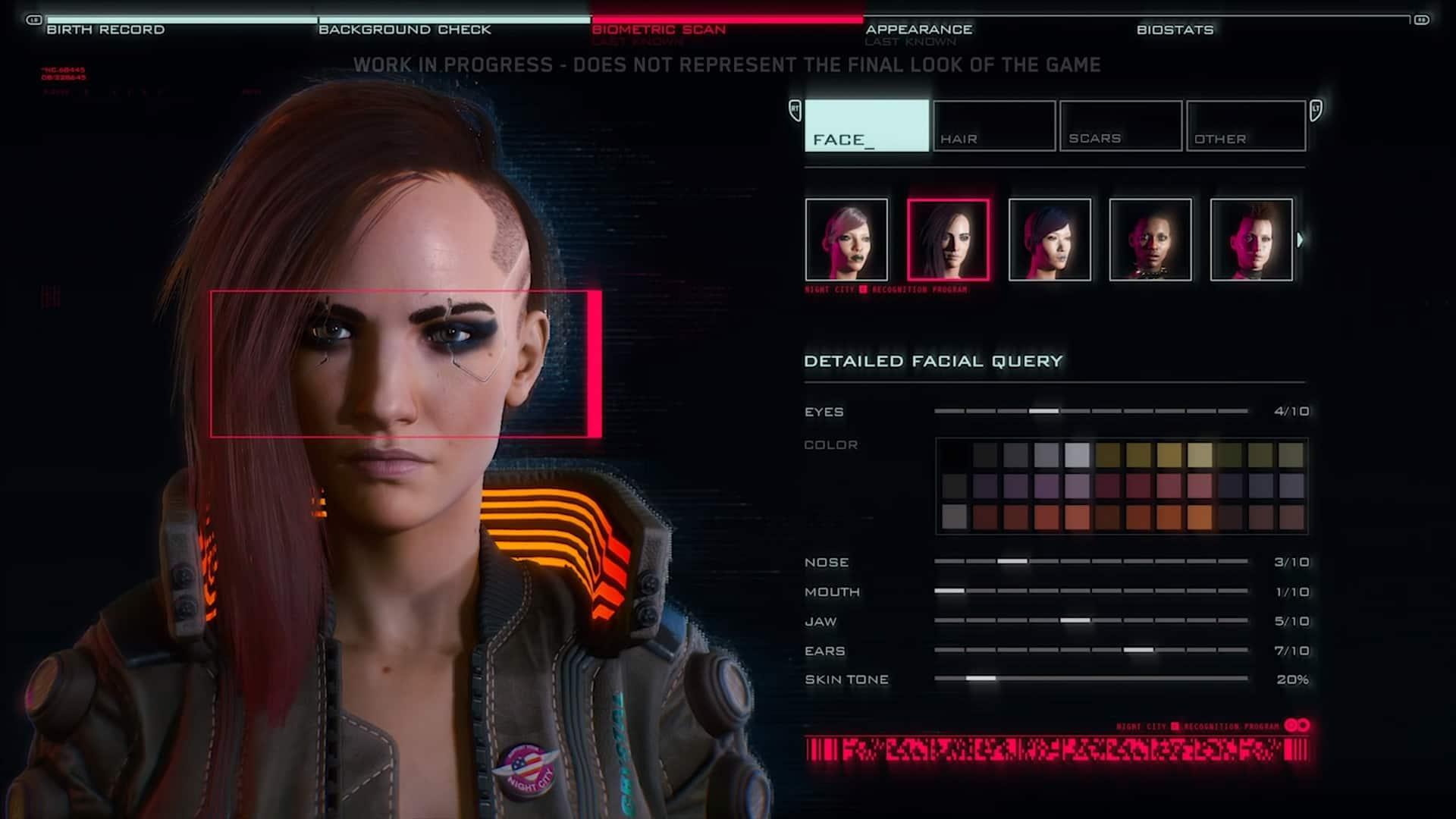 Cyberpunk-2077-éditeur-personnage