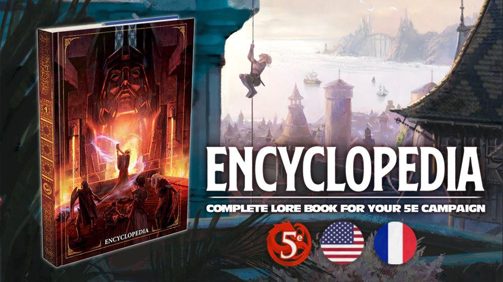 Encyclopédie Dragons JdR